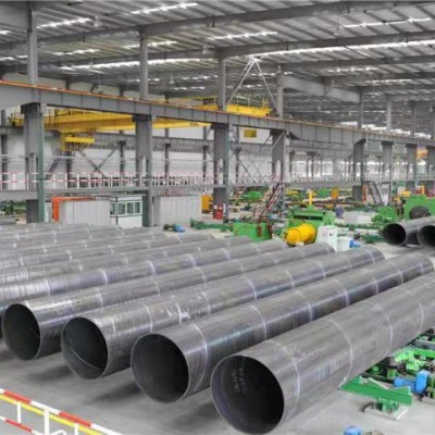 Dredge steel pipes