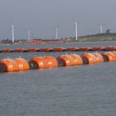Floating dredging pipelines supply