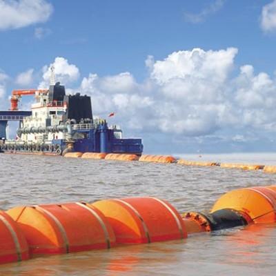 Dredging construction floaters manufacturer 2020