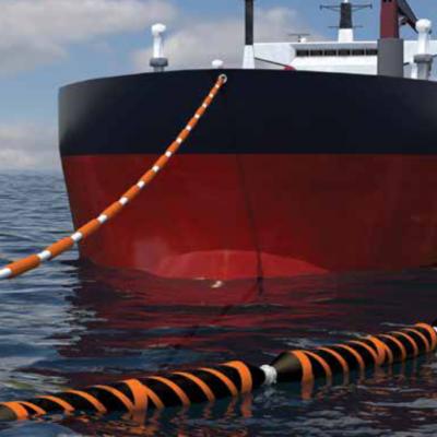 OCIMF Mainline Floating Hoses for marine storage.