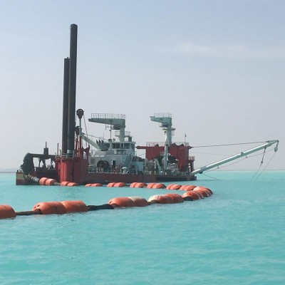 Dredge Floater Buoyance from 200kgs to 8180kgs Plastic Floaters for CSD Dredging Pipelines