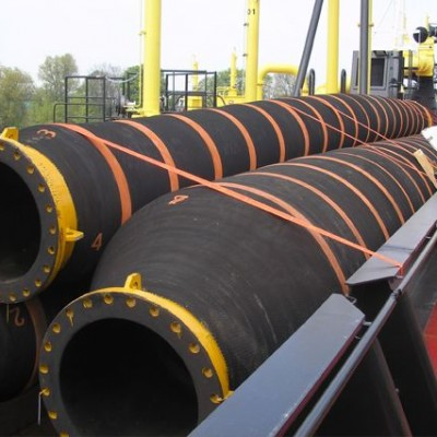 Self-floating Hoses for dredging manufactured by HOHN Group