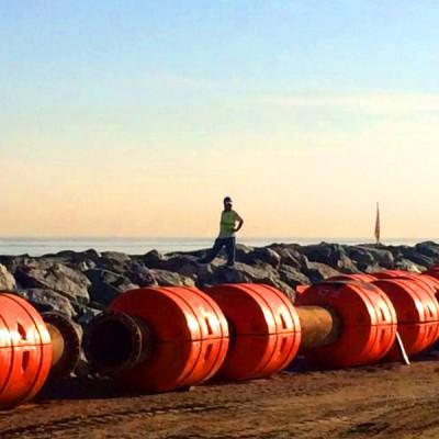 Start your dredging work via HOHN Floating Pipelines