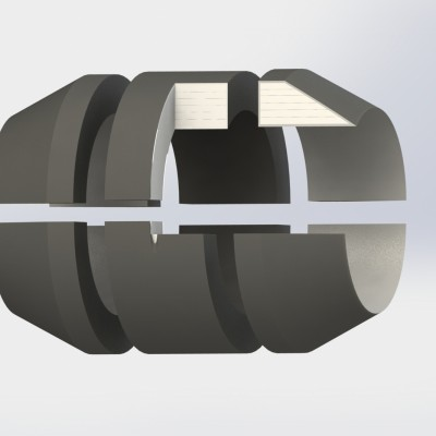 Dredging components equipment Rubber Floats for dredge line-HOHN Group