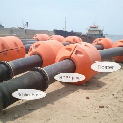 Keep High Flexibility via HOHN GROUP Floating pipelines rubber hoses