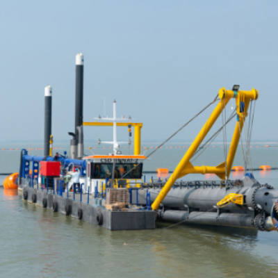 Plastic floats for HDPE or Steel Drege pipes