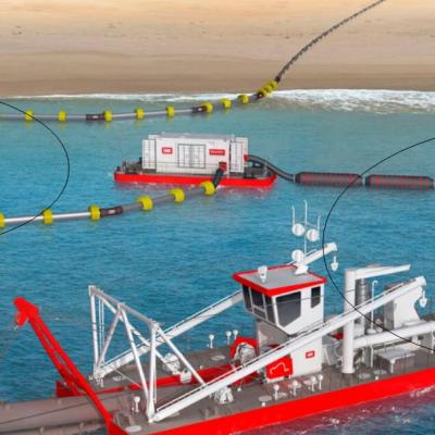 Dredging Floating Pipelines for IHC Beaver CSD Dredger