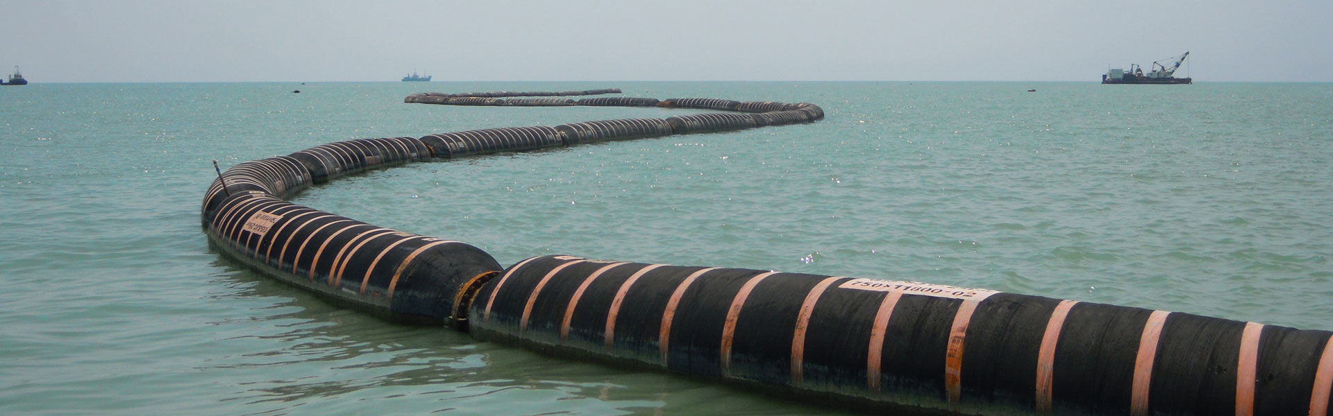 Dredging plays the important role in the goods transport via ship.
