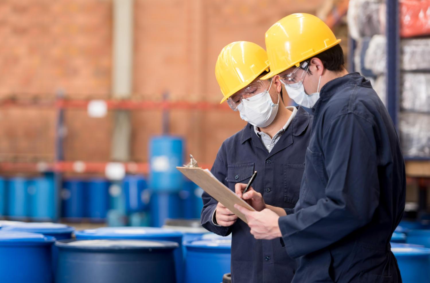 Working in safe workshops