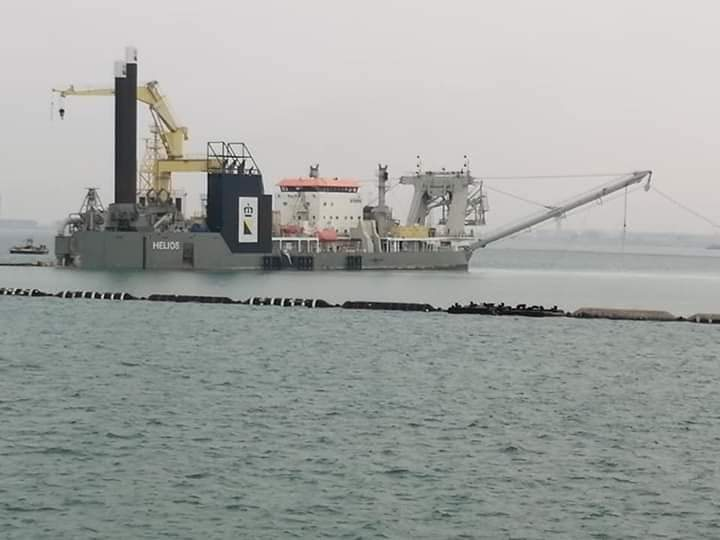 Dredge Full Armored Floating Hoses for Land reclamation