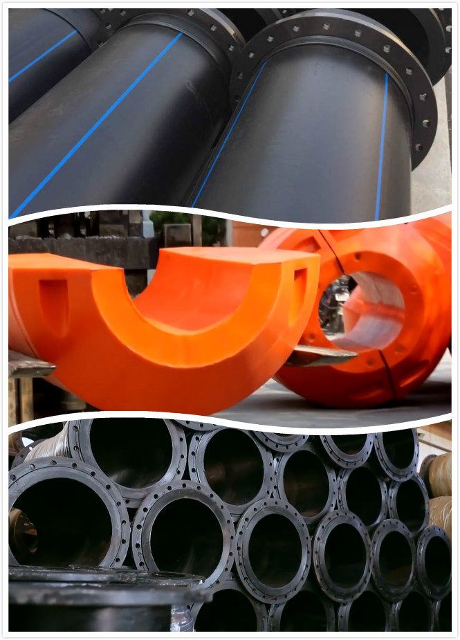 Dredge HDPE pipe,Hoses,Floaters for Land Reclamation
